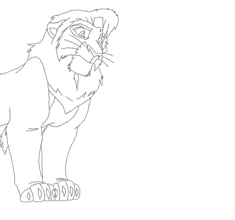 lion king coloring pages kovu - the gallery for kiara and kovu coloring pages