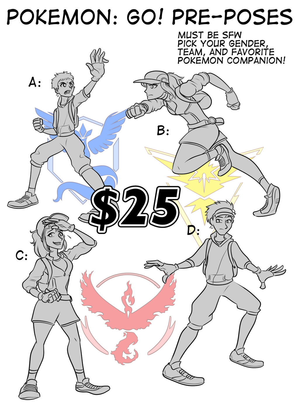 Pokemon: GO Pre-Pose Sale by RiddleAugust