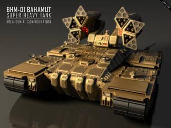 Bahamut Super Heavy Tank by Progenitor89