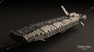 Sleipnir Class Troop Carrier by Progenitor89