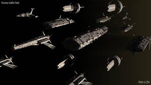 Human battle fleet