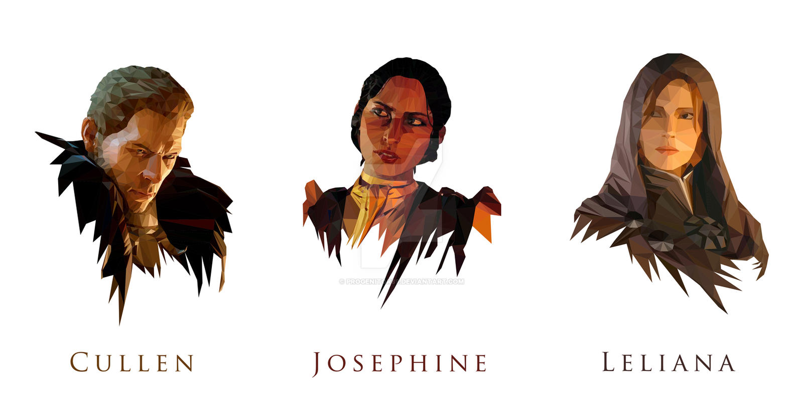 Dragon Age Inquisition Advisors By Progenitor89 On Deviantart