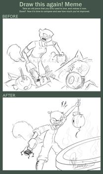 Draw This Again Challenge: Portal Sandy
