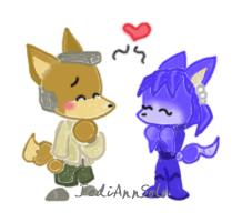 Cutesies: Fox - Krystal by JediAnnSolo
