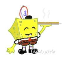 Cutesies: SpongeBob by JediAnnSolo
