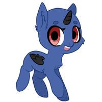 FTU Chibi pony base by IDewAdopts