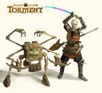 Planescape: Torment: Dak'kon and Nordom