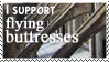 flying buttresses stamp by OmegaDreamSeeker11