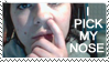 nose picker stamp by OmegaDreamSeeker11