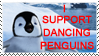 support dancing penguins stamp by OmegaDreamSeeker11