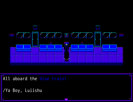 RGB: Blue Train by Luiishu535