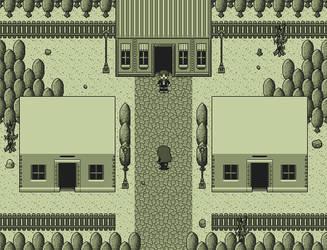 Game Boy Pixel Art: Rural Town