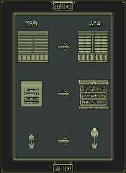 GB Pixel Art Evolution Mars June 2017