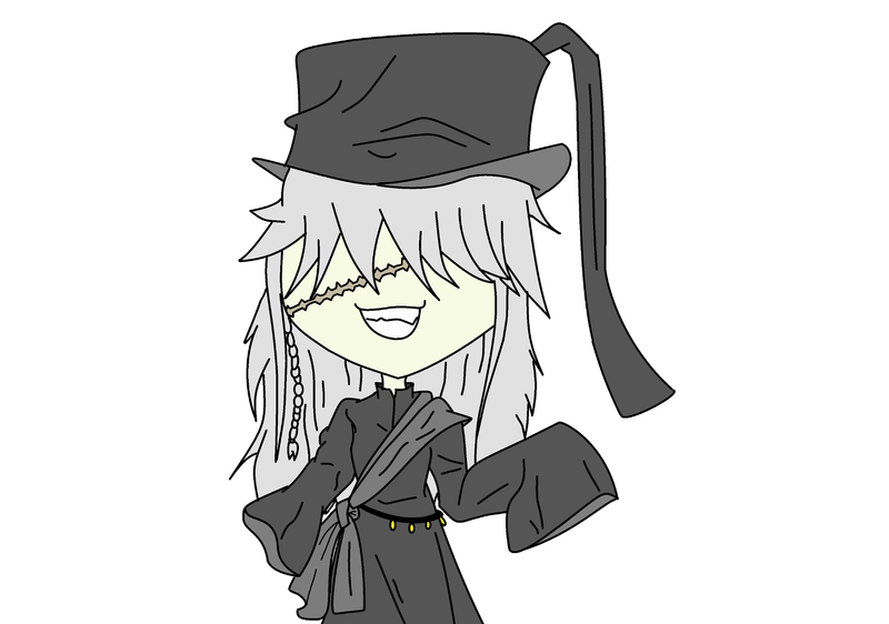 Undertaker As A Chibi From Black Butler By XxcyberalienxX