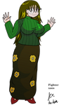 Kelly flower skirt