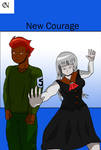 New Courage new arc cover