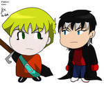 chibi Schroeder and xaos