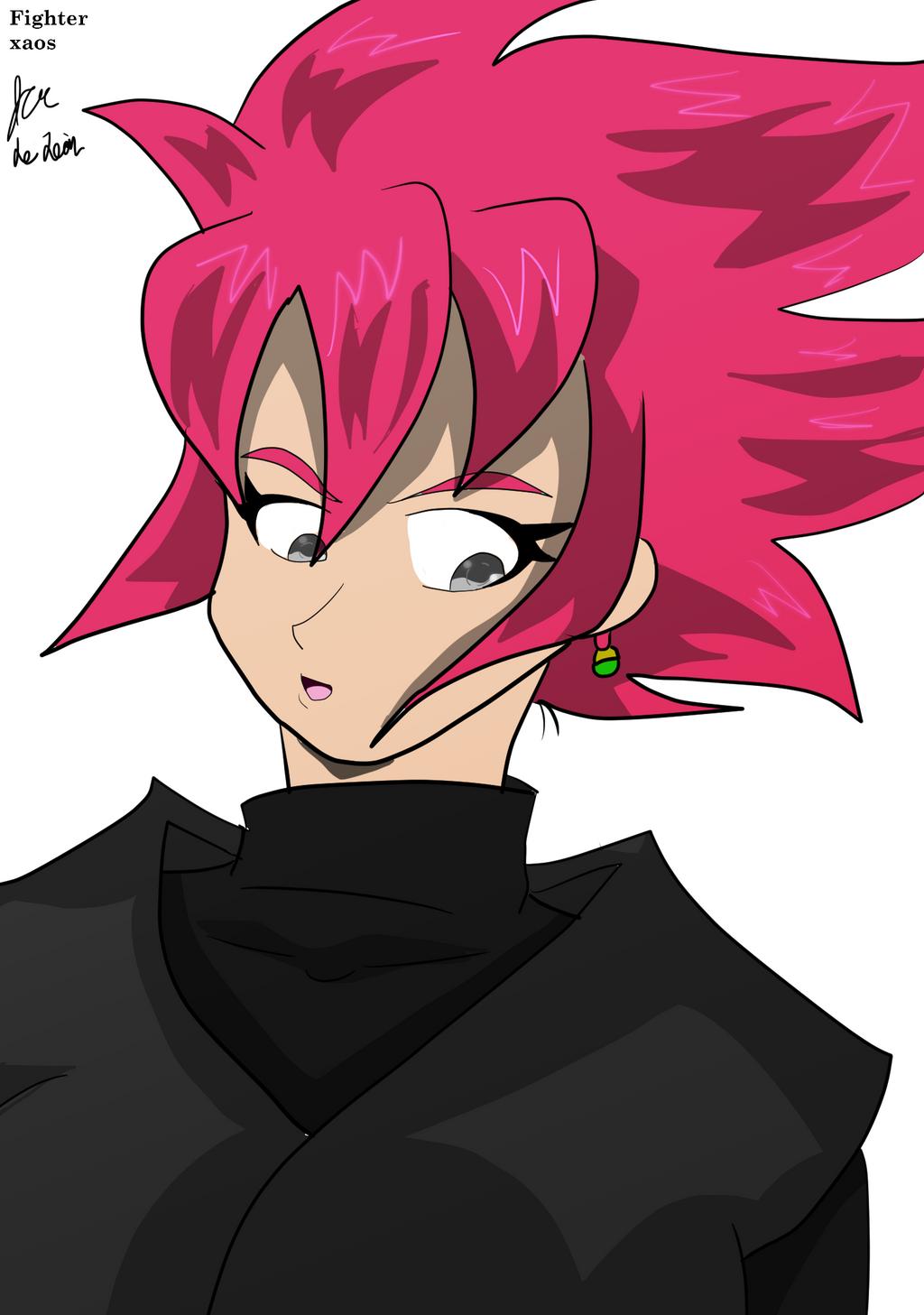 Femme goku black by fighterxaos on deviantart - Femme chat manga ...