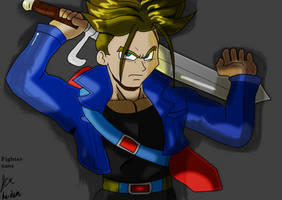 Trunks memory by fighterxaos