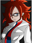 Android 21 in lab coat