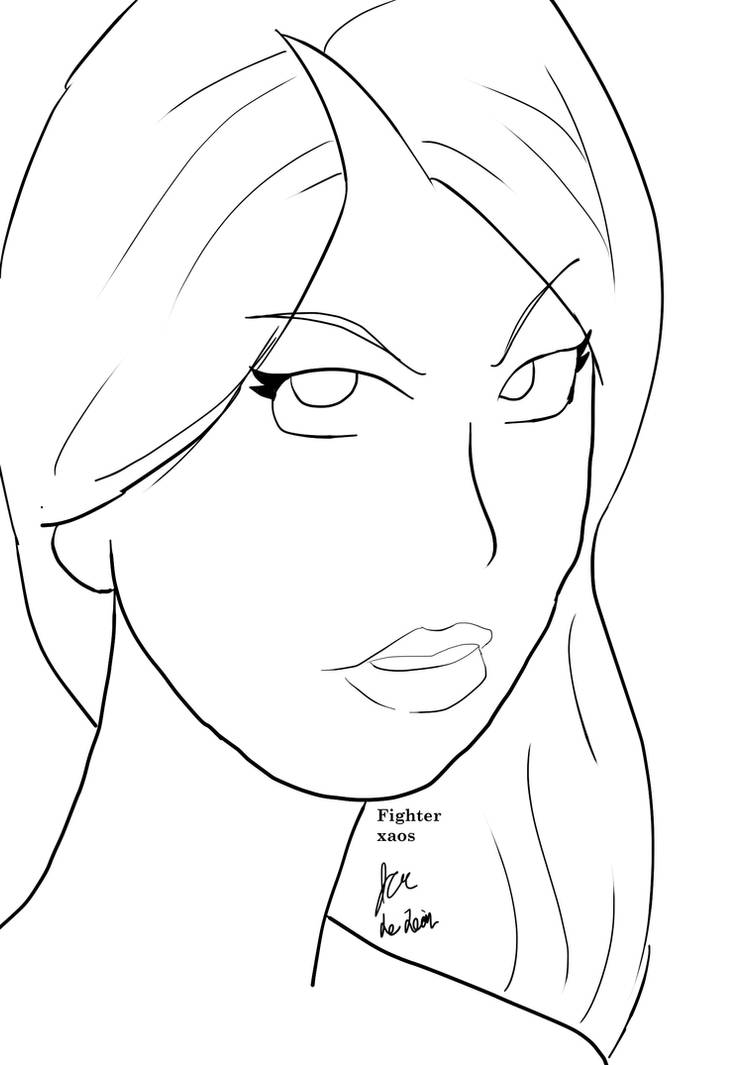 Line practice by fighterxaos