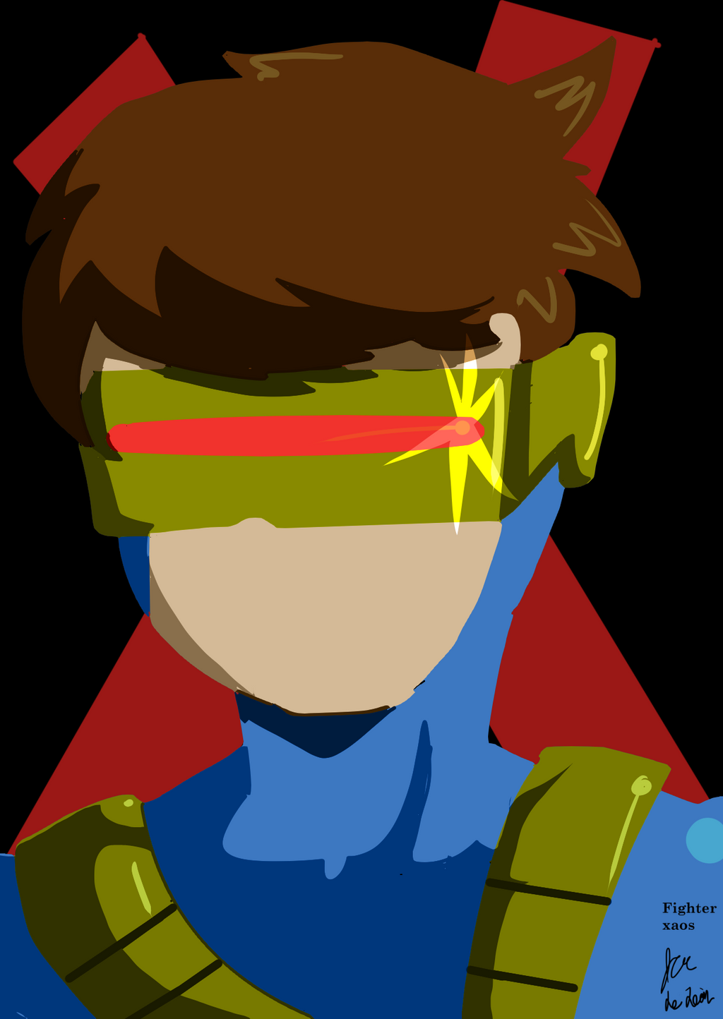 Cyclops by fighterxaos