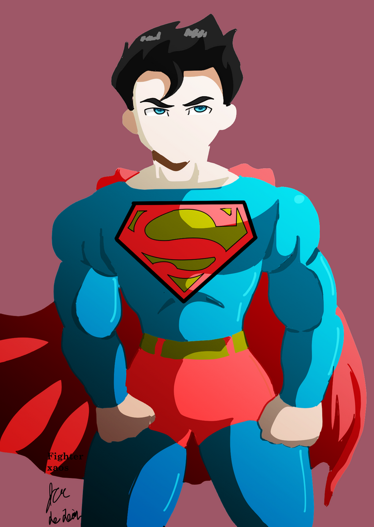 Superman by fighterxaos