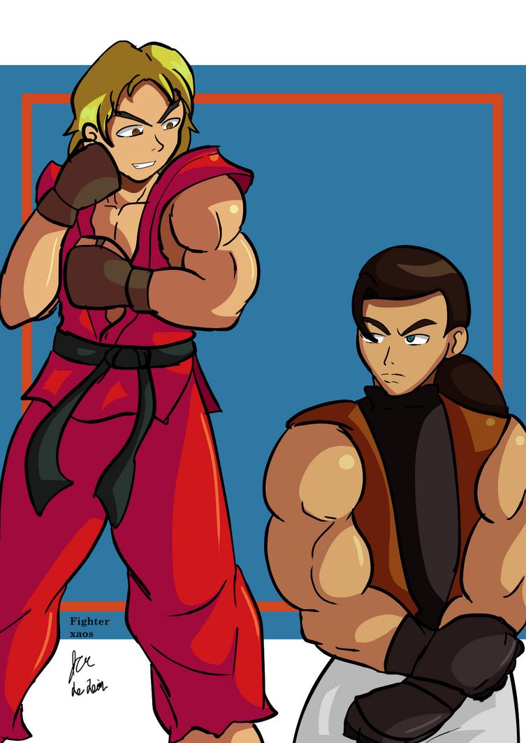Ken vs Robert by fighterxaos