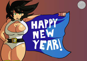 Gianna new year 2019 by fighterxaos