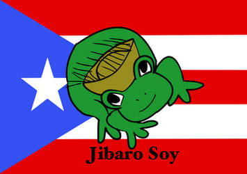 Jibaro soy Puerto Rican march design by fighterxaos
