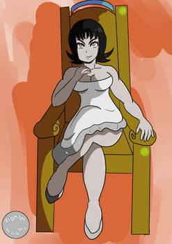 Mistress Ecchi on her Throne