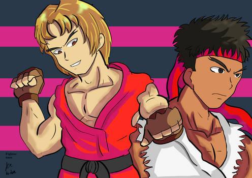 Ken and Ryu