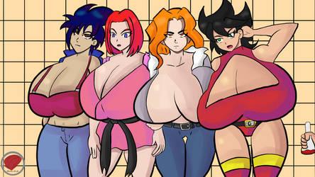 Com : Ramona, Alyssa, Leona and Gianna