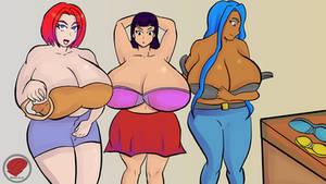 COM : Alyssa, Yui, Linda