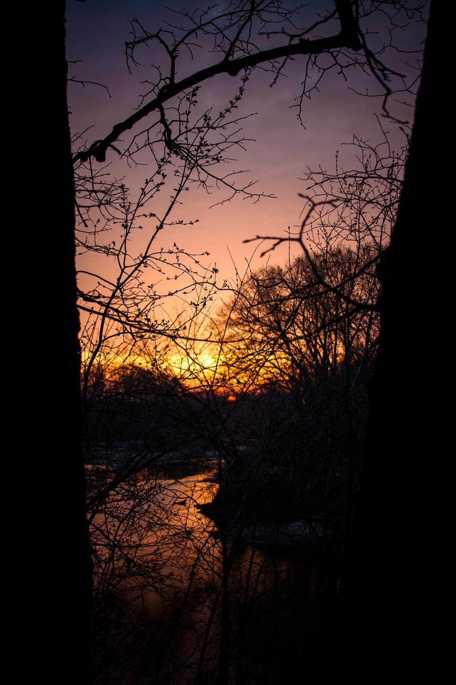 In-Between Sunset by quasi-Virtuoso