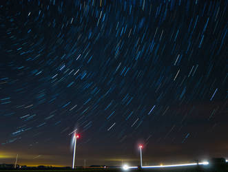 Wind Energy Startrails by quasi-Virtuoso