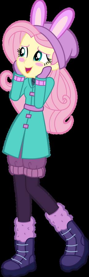 Fluttershy Eg (Winter Outfit)