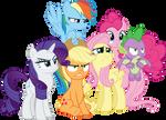 Angry Ponies and Dragon