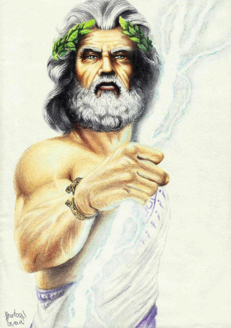 Zeus the King of Olimp by