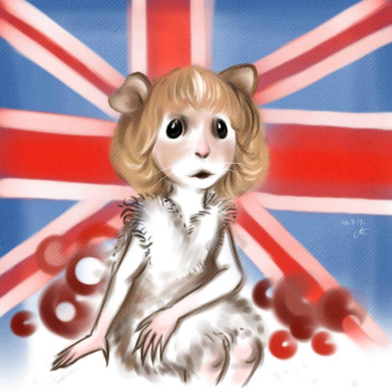 cute hamster by maryallen138