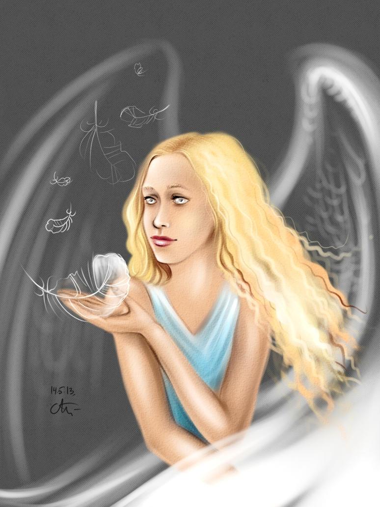 Portrait girl by maryallen138