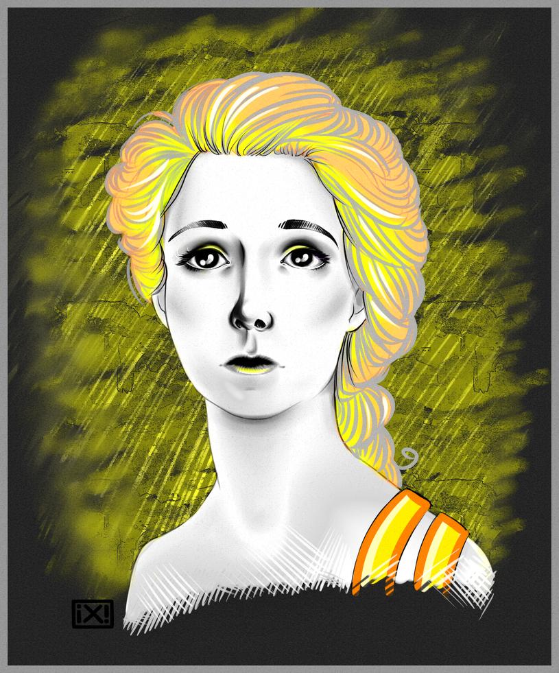 Portrait girl 2 by maryallen138