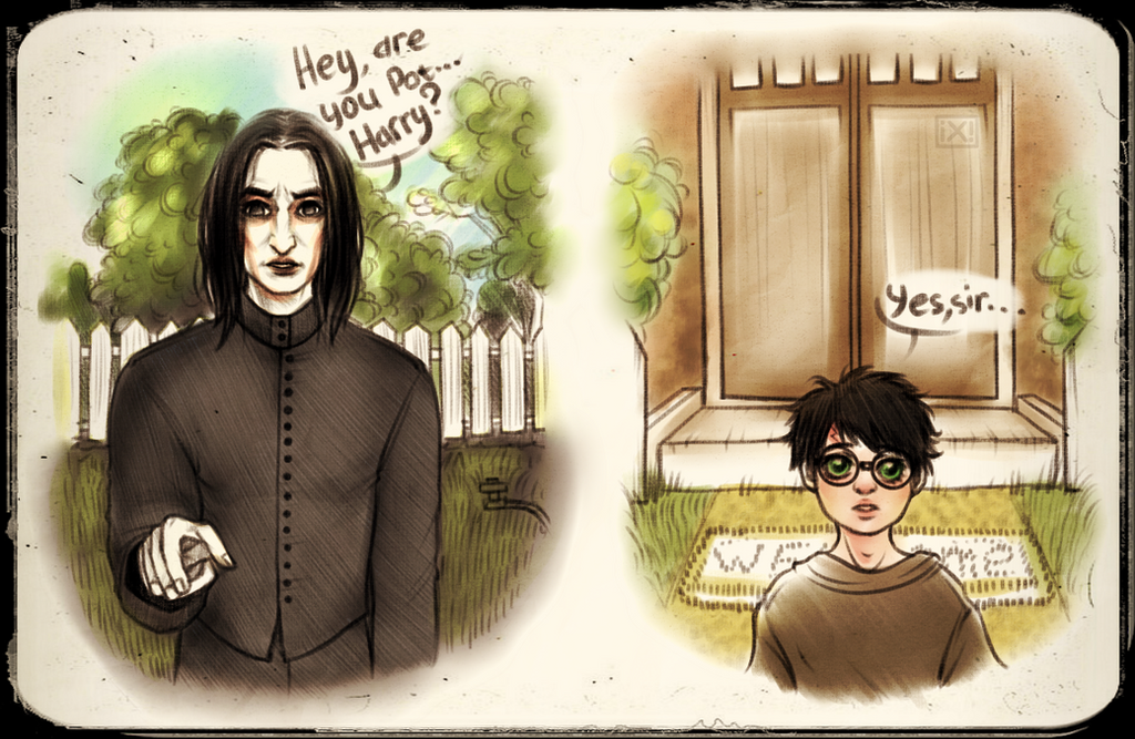 HP: Severus Snape|Harry Potter by maryallen138