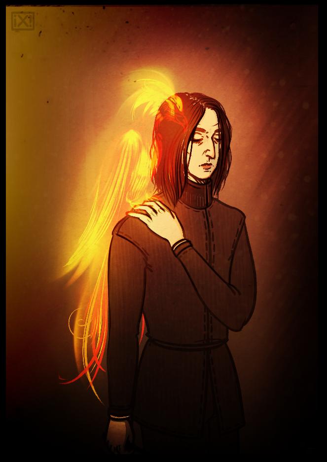 HP: Severus Snape by maryallen138