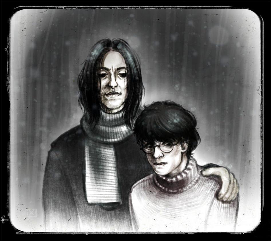 HP: snarry, post-hog. by maryallen138