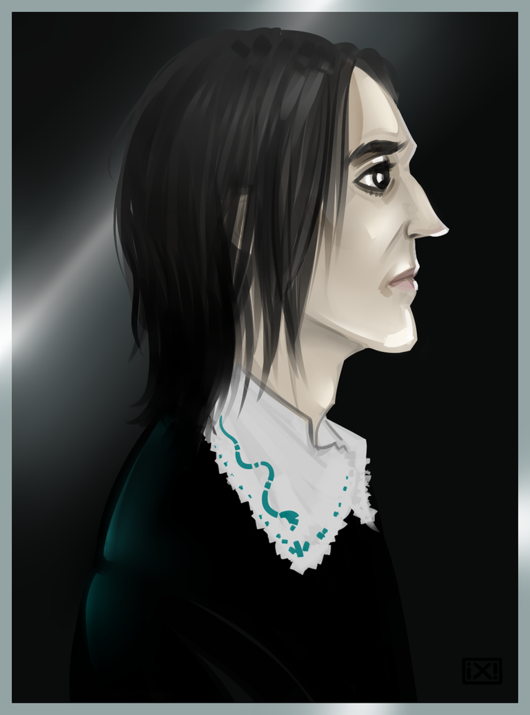 HP: Severus Snape by maryallen138