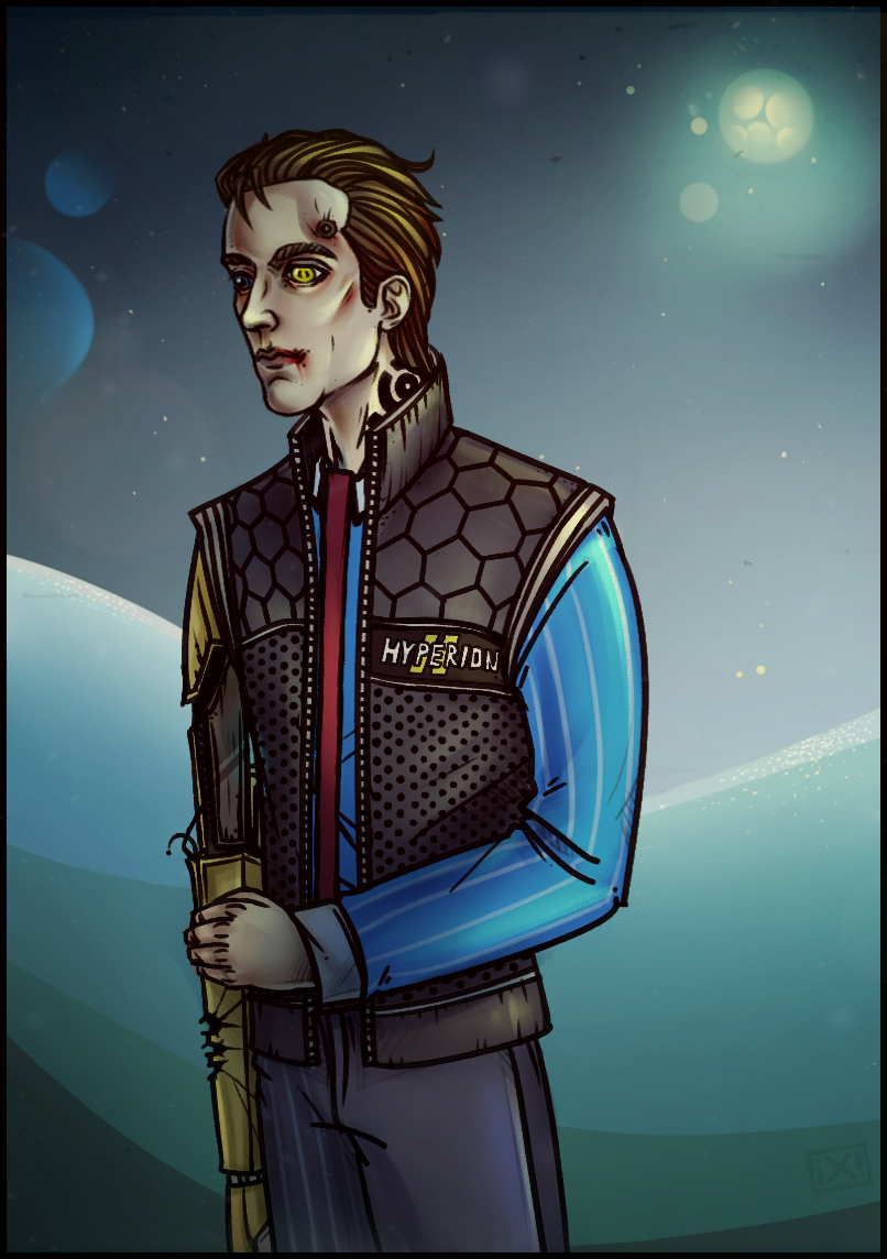 Tales from the Borderlands: Rhys by maryallen138