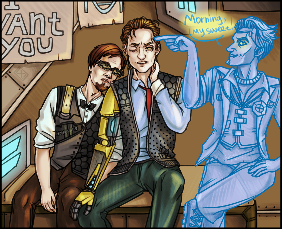 Tales from the Borderlands: Good morning! by maryallen138