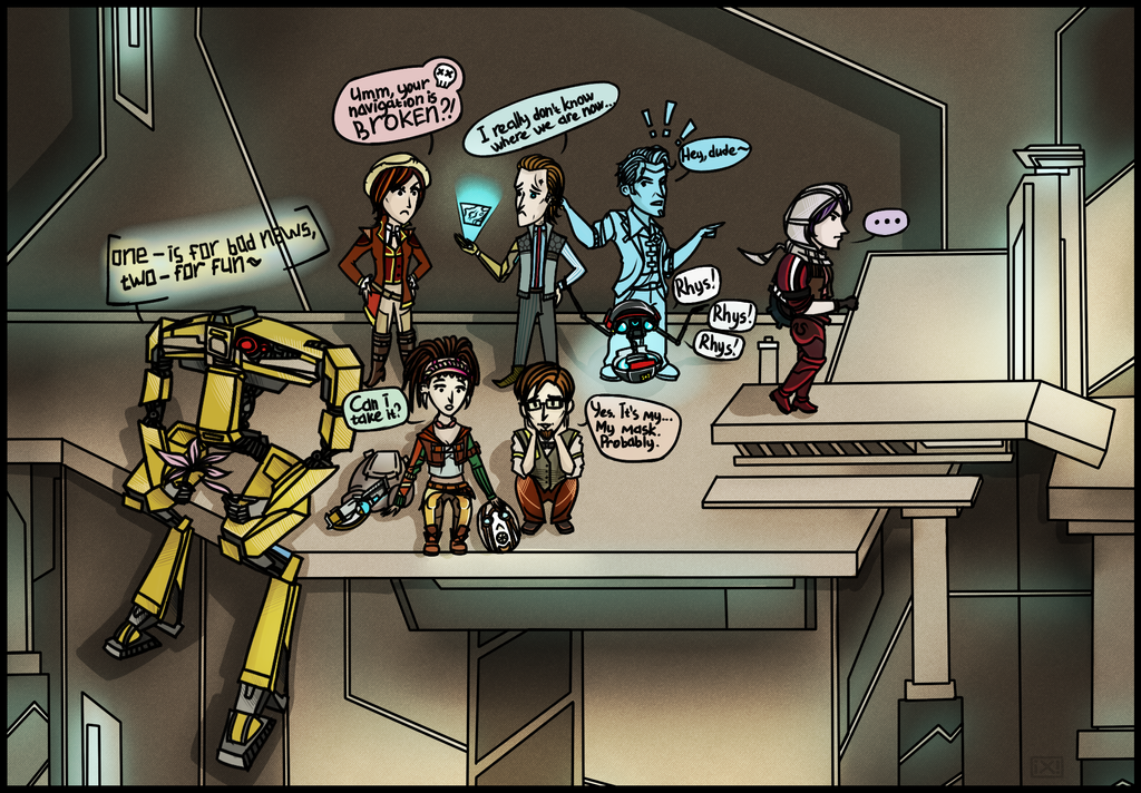 Chibi!Tales from the Borderlands by maryallen138
