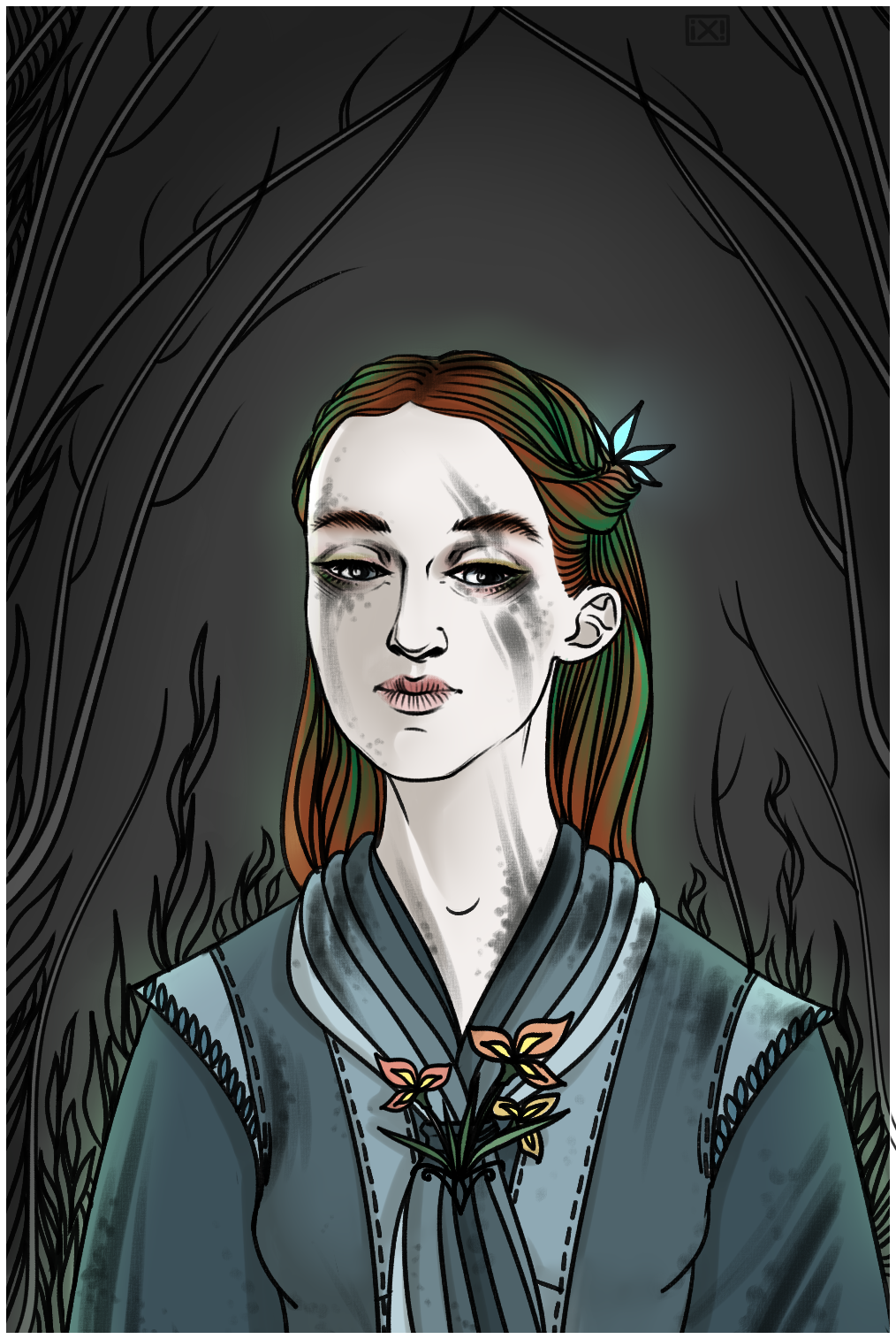 Sansa Stark!AU by maryallen138